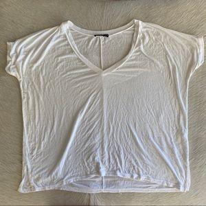 white v neck